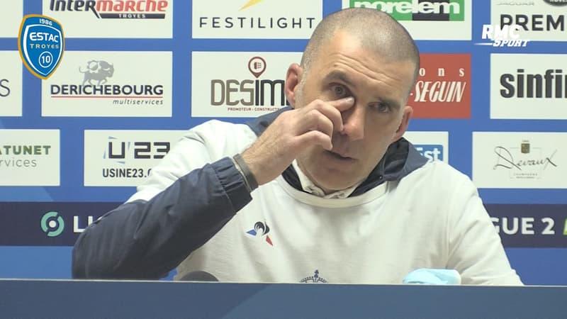 Troyes : Les larmes de Batlles pour la montée de l'ESTAC en Ligue 1