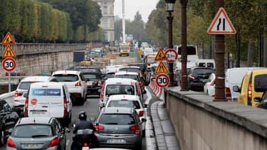 Le trafic perturbé n'arrange pas la situation en Ile-de-France