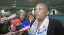 """""""Les infractions reconnues dans l'espace public doivent pouvoir l'être également dans l'espace internet"""", a proclamé Christiane Taubira.."""