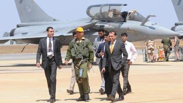 La conclusion du contrat pour la fourniture de 36avions Rafale à l'Inde a marqué l'année 2016.
