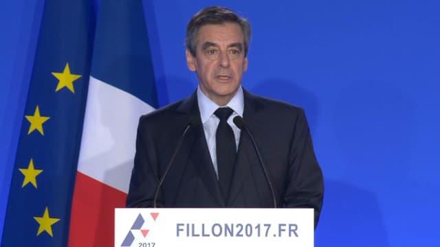 François Fillon le 6 février 2017.
