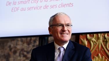 Le PDG d'EDF, Jean-Bernard Levy prépare l'augmentation de capital du groupe pour le premier trimestre 2017.