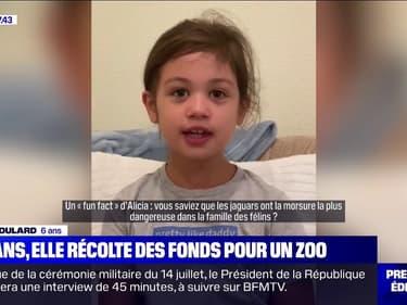 À 6 ans, elle récolte près de 150.000 euros pour les animaux du zoo d'Oakland, en Californie