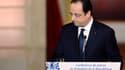 François Hollande reçoit pour la quatrième fois la presse à l'Elysée.