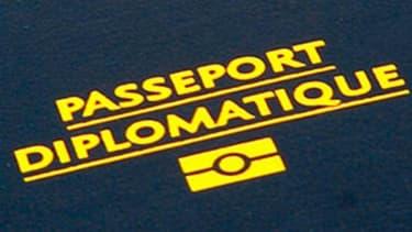 Illustration - Un passeport diplomatique