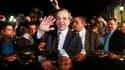 Antonis Samaras, chef de file de Nouvelle Démocratie, a réclamé dimanche soir la formation d'une large coalition pour poursuivre une politique d'austérité décriée par de nombreux Grecs, à l'issue des élections législatives. /Photo prise le 17 juin 2012/RE