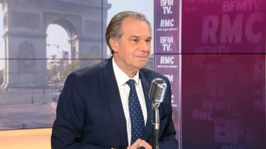Le président sortant de la région Sud, Renaud Muselier, le 28 avril 2021