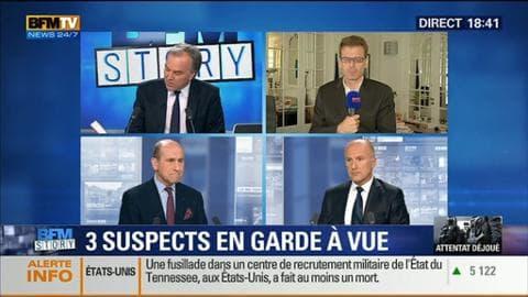 Attentat déjoué (2/2): Trois suspects sont toujours en garde à vue