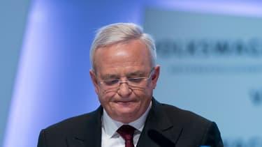 Martin Winterkorn, ancien PDG de Volkswagen.