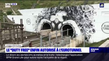 """Littoral: une zone de """"duty-free"""" enfin autorisé à l'entrée du tunnel sous la Manche"""