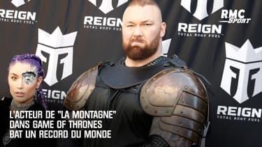 """""""La Montagne"""" dans Game Of Thrones soulève un barre de 501 kg, record mondial battu"""