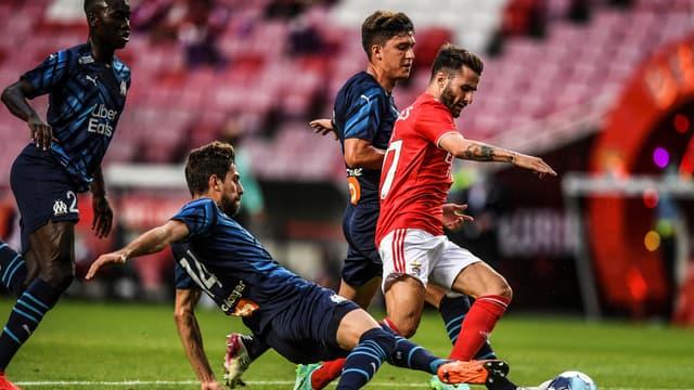 Rafa da Silva lors de Benfica-OM