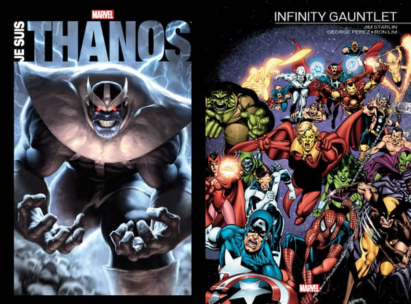Couvertures des livres sur Thanos