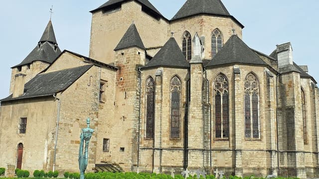 La cathédrale Sainte-Marie d'Oloron.