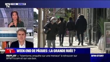 """Restrictions renforcées: le maire de La Baule-Escoublac demande """"des CRS supplémentaires"""""""
