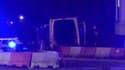 Le van utilisé par les terroristes dans l'attaque de Londres, samedi.