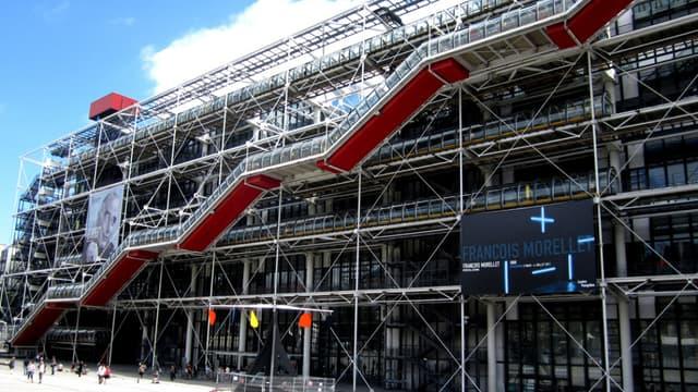 Le Centre Pompidou, à Paris