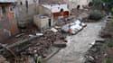 Les Arcs sur Argens, au lendemain de fortes pluies. Le bilan des victimes des pluies torrentielles qui se sont abattues sur le Var mi-juin a été revu à la baisse et s'établit désormais à 23 morts et deux disparus, selon la préfecture du département. /Phot