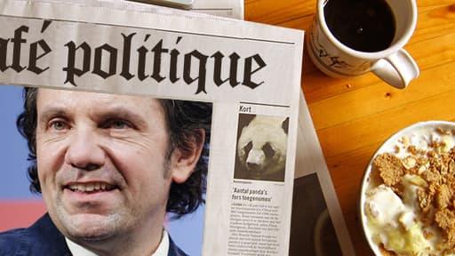Frédéric Lefebvre (UMP) fait son retour