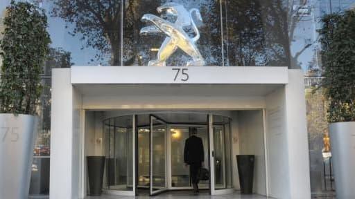 Le siège de PSA à Paris