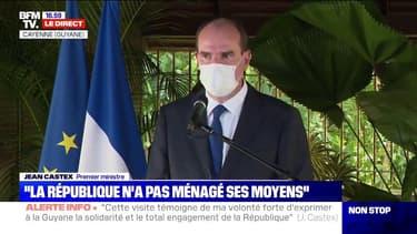 """Jean Castex  en Guyane: """"Je peux comprendre l'impatience de la population face aux contraintes qui lui sont faites mais il faudra rester vigilants"""""""