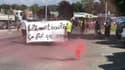 "La manifestation ""No Border"" à Gap."