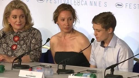 """Festival de Cannes 2015: """"La tête haute mais froide"""" pour Rod Paradot"""