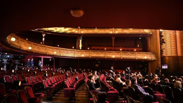 Image d'illustration - Au théâtre du Châtelet, à Paris le 21 juin 2020.