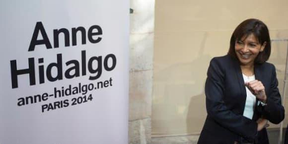 Anne Hidalgo, candidate socialiste pour la mairie de Paris en 2014.