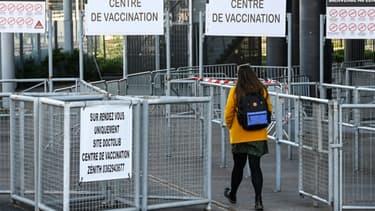 Centre de vaccination contre le Covid-19 à l'Arena Zenith à Lille, le 7 avril 2021