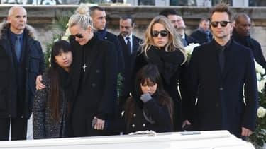 Le clan s'était réuni pour la dernière fois lors des obsèques