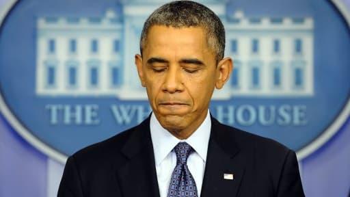 Barack Obama a rencontré les sénateurs républicains, vendredi 11 octobre. Mais aucun accord n'a été trouvé.