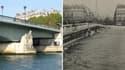 En 1910 l'eau arrive au cou du Zouave du pont de l'Alma.