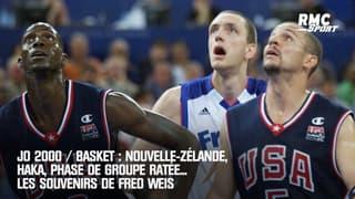 JO 2000 / Basket : Nouvelle-Zélande, haka, phase de groupe ratée... Les souvenirs de Fred Weis