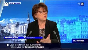 Lille Politiques: Martine Aubry, candidate à sa réélection, invitée de BFM Grand Lille