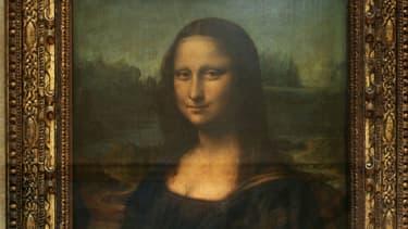 La Joconde, le tableau le plus célèbre de Leonard de Vinci.