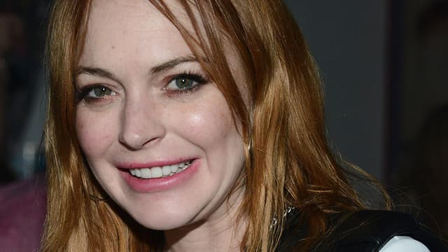 Lindsay Lohan en avril 2014  Coachella.