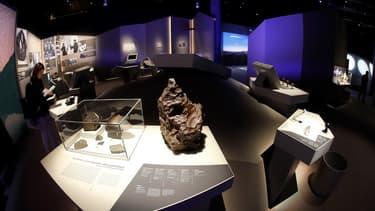 Environ 300 météorites sont à découvrir au Muséum national d'Histoire naturelle, à Paris.
