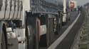 Les transporteurs routiers bloquent plusieurs autoroutes samedi en France (Photo d'illustration)