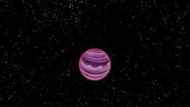 PSO J318.5-22, une planète flottant seule dans l'espace vient d'être découverte.