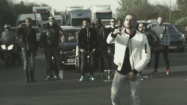 """Le rappeur Fianso a tourné son clip """"Toka"""" sur l'autoroute"""