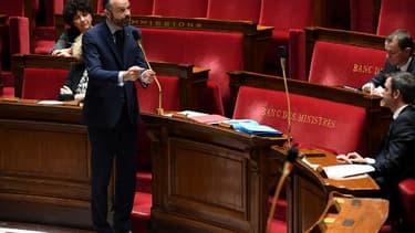 Édouard Philippe à l'Assemblée nationale le 7 avril 2020