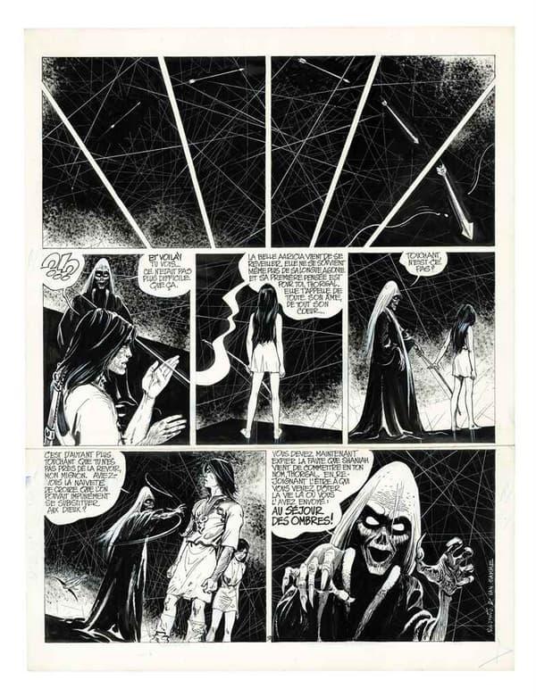 Le tome 5 de Thorgal, Au-delà des ombres (1983)