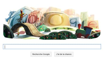 Google lance un deuxième Doodle spécial Noël.