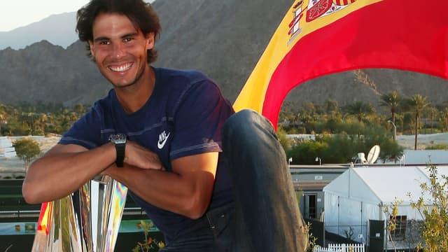 Rafael Nadal (ici en 2013) défend son image et celle du sport espagnol.