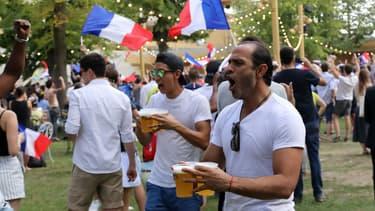 La consommation d'eau a chuté à Paris pendant le match France-Argentine samedi dernier.