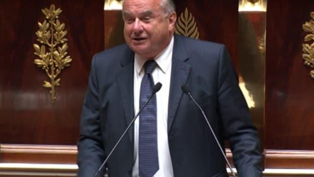 """""""Asseyez-vous de temps en temps sur les libertés individuelles"""", a lancé le député UMP Alain Marsaud."""