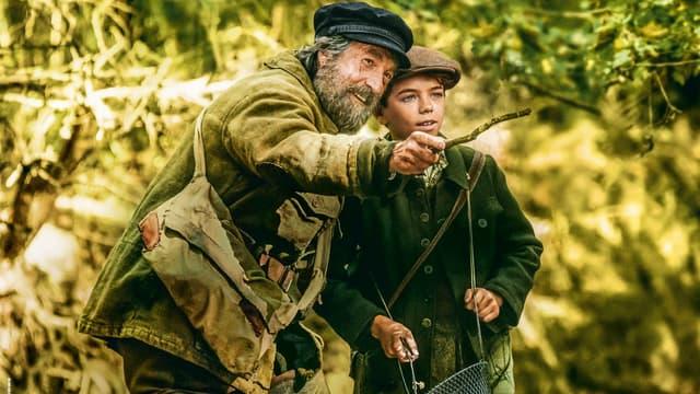 """François Cluzet et Jean Scandel dans """"L'école buissonnière"""" de Nicolas Vanier, en salles 11 octobre 2017"""