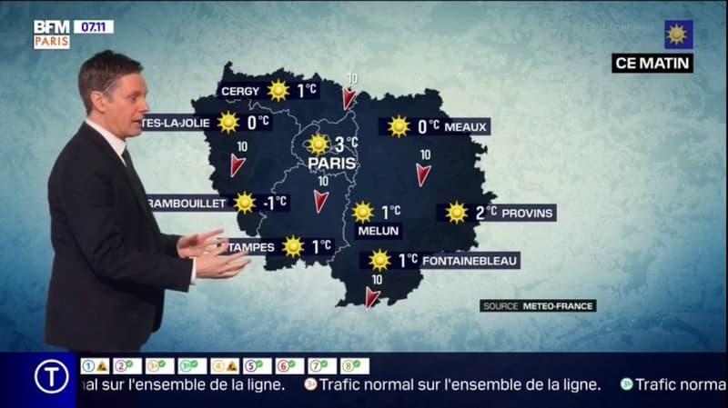 Météo Paris-Ile de France du 27 février: un temps plus frais mais sec et avec du soleil ce samedi