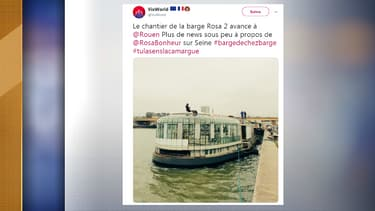 Rosa Bonheur attend sa nouvelle barge